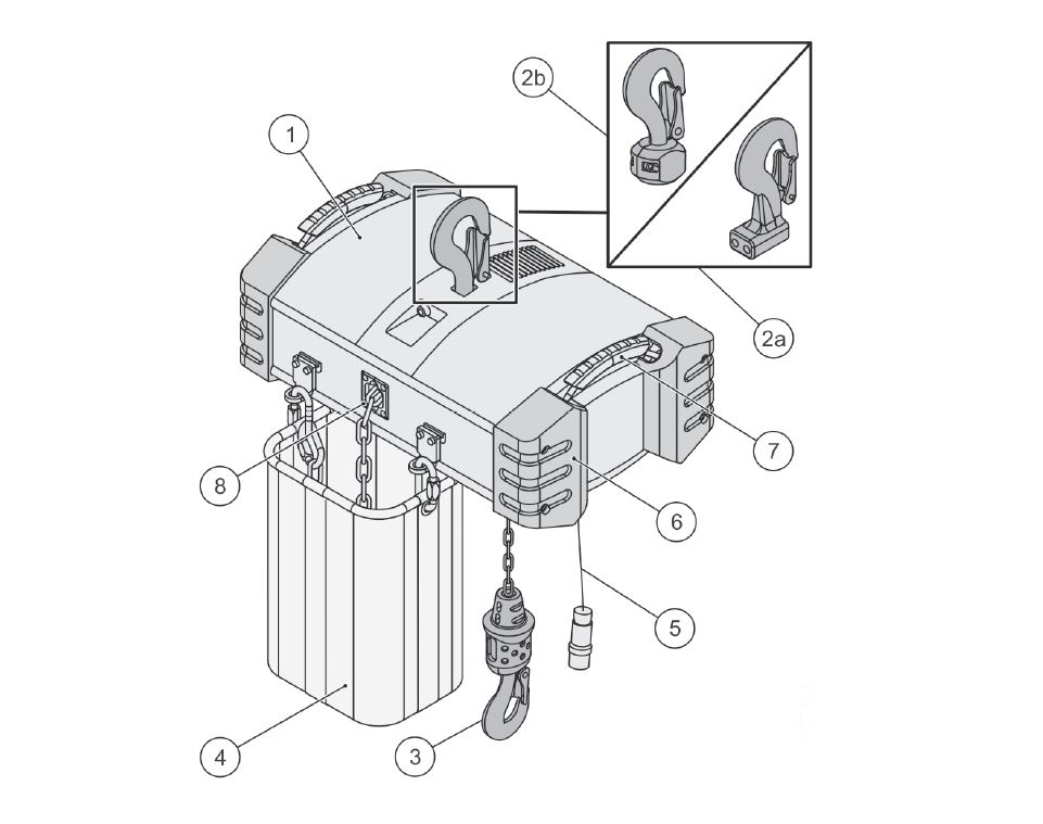 Key parts of the motor